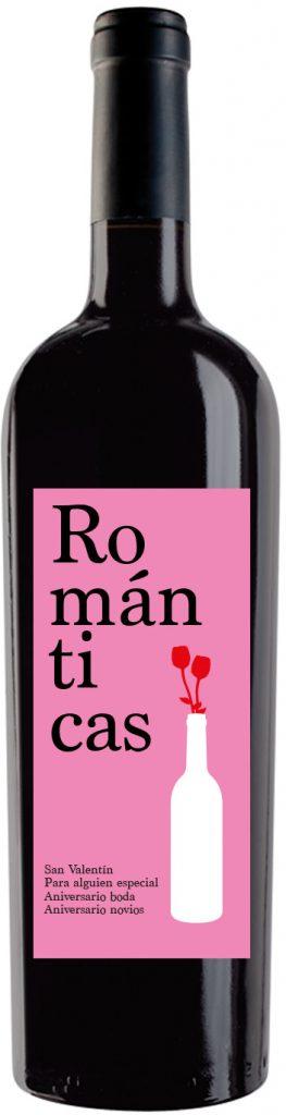 vino personalizado ROMÁNTICO